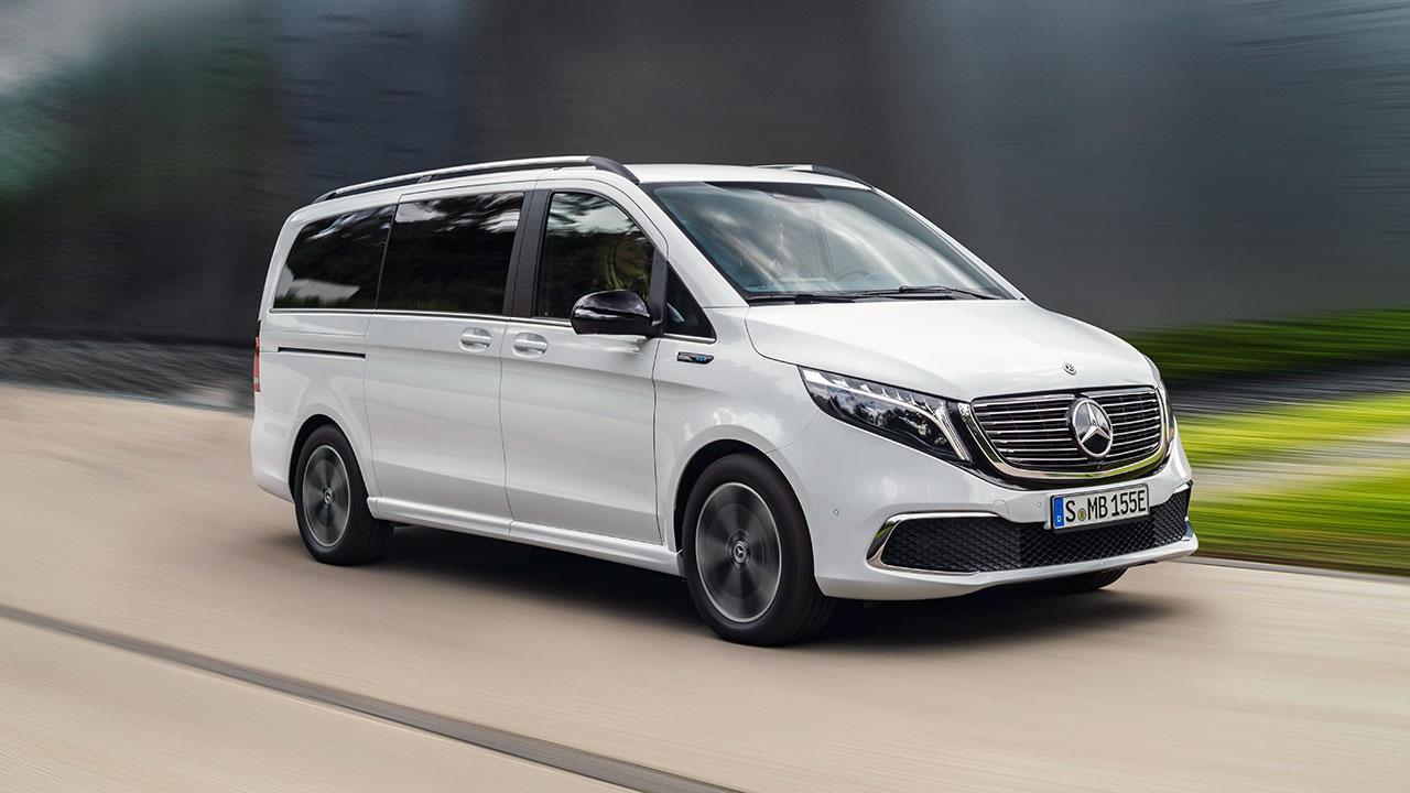 Mercedes-Benz EQV - in voller Fahrt