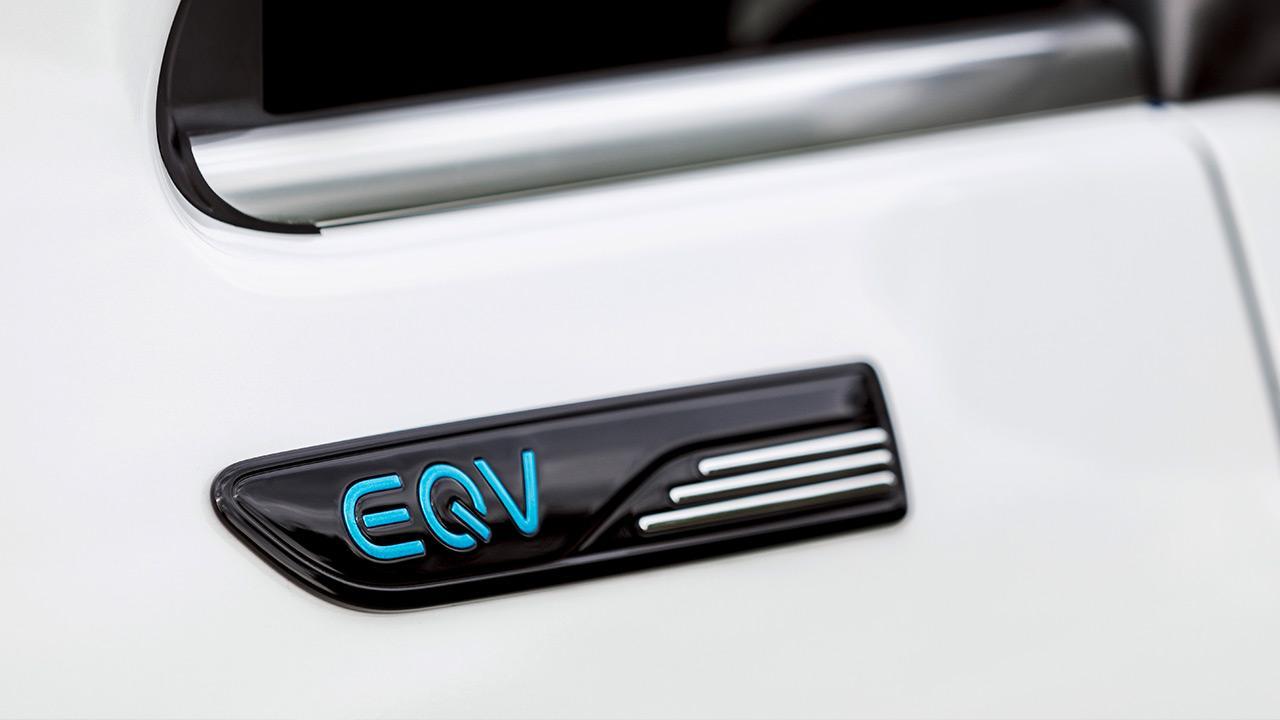 Mercedes-Benz EQV - Schriftzug