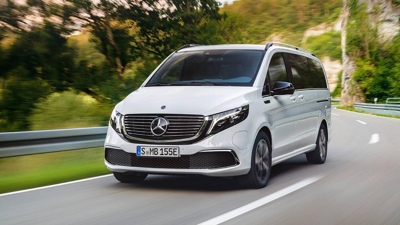 Mercedes-Benz EQV - Frontansicht