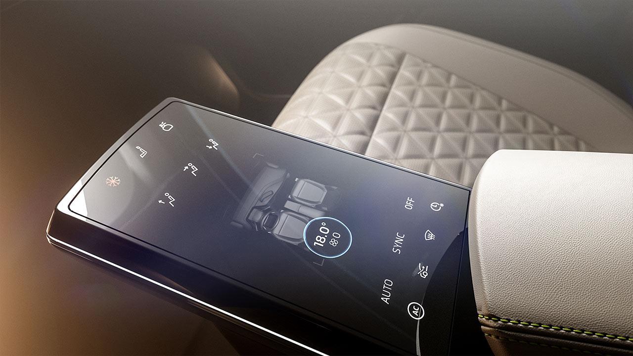 Byton M-Byte - Touchscreen in der Mittelkonsole
