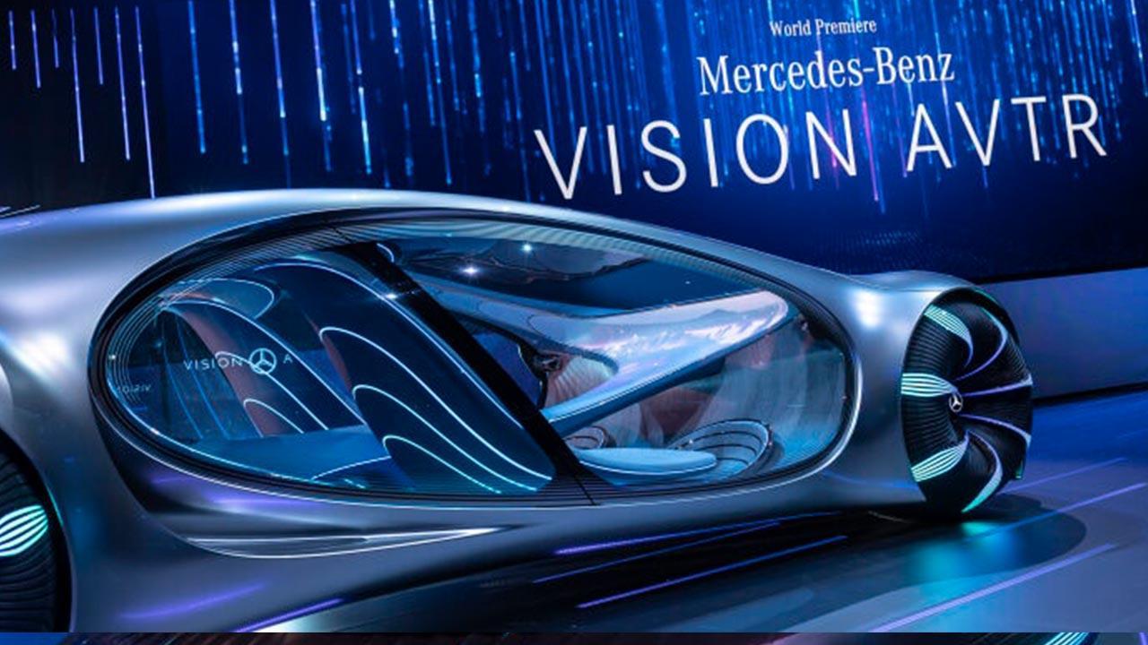 Mercedes Benz Vision AVTR - Seitenansicht