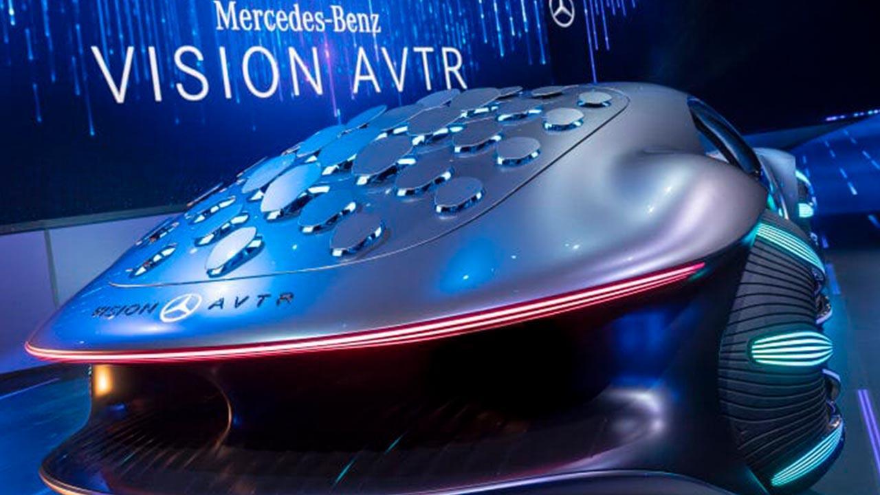 Mercedes Benz Vision AVTR - Heckansicht