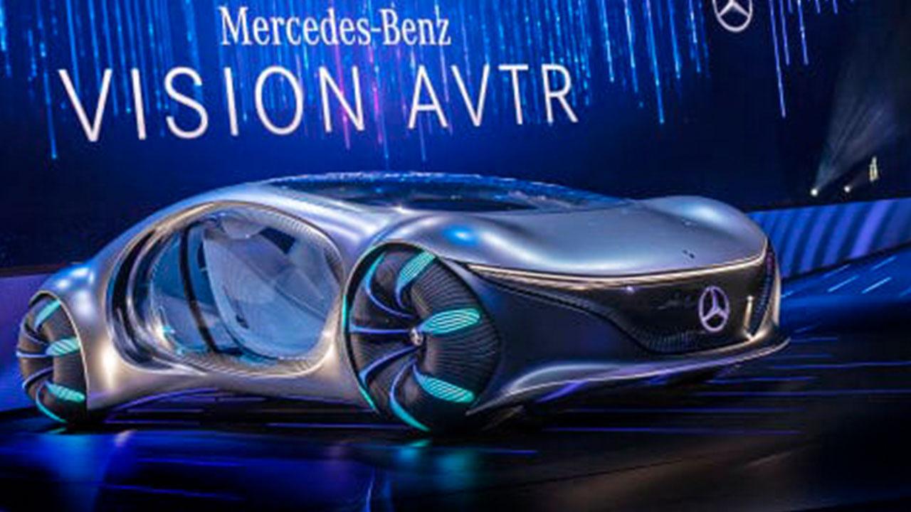 Mercedes Benz Vision AVTR - Frontansicht