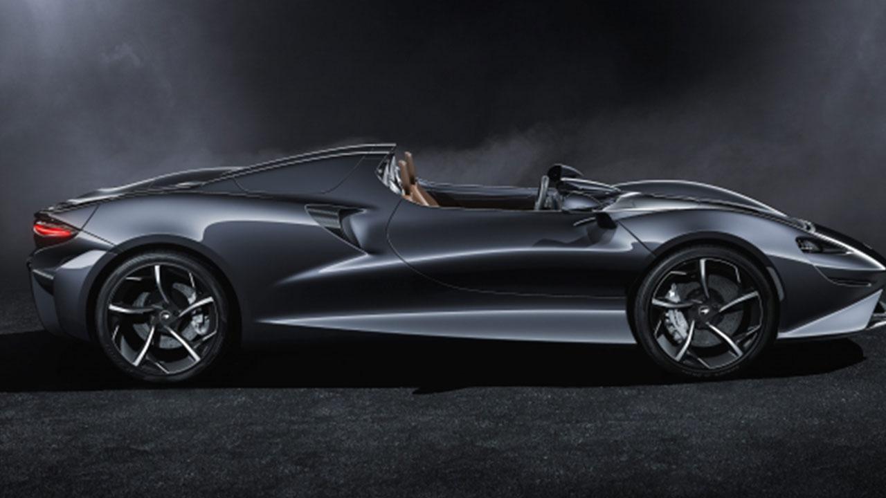 McLaren Elva - Seitenansicht
