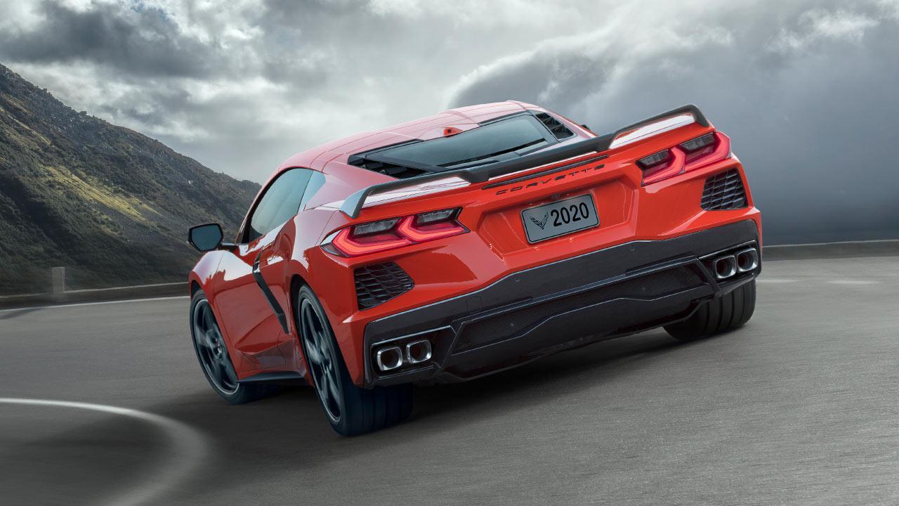 Chevrolet Corvette Stingray - Heckansicht