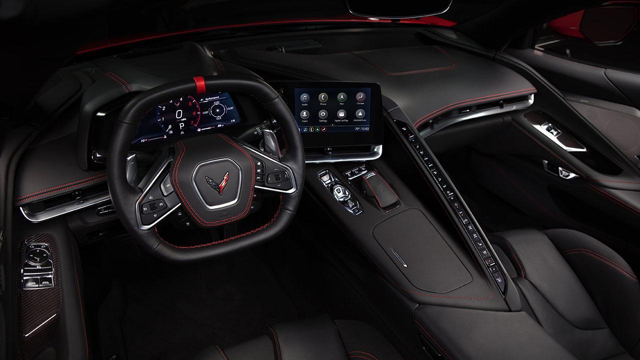 Chevrolet Corvette Stingray - Cockpit