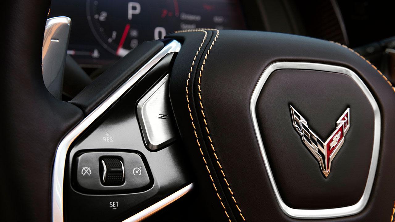 Chevrolet Corvette Stingray - Lederlenkrad