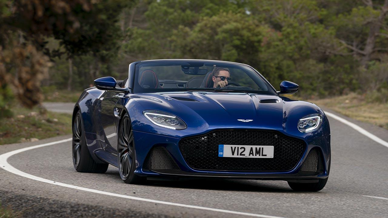 Aston Martin DBS Superleggera Volante - in voller Fahrt