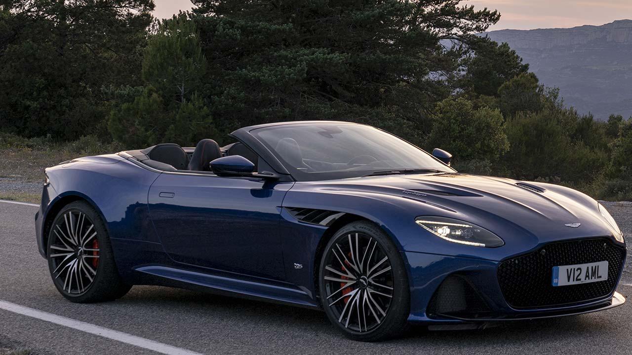 Aston Martin DBS Superleggera Volante - mit offenem Verdeck