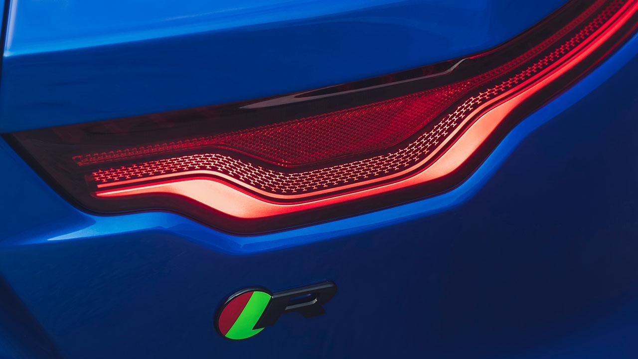 Jaguar F-Type R Coupe - Rücklicht