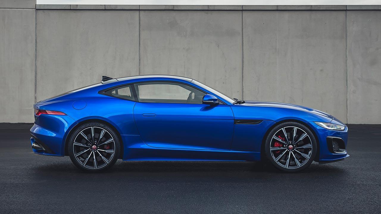 Jaguar F-Type R Coupe - Seitenansicht