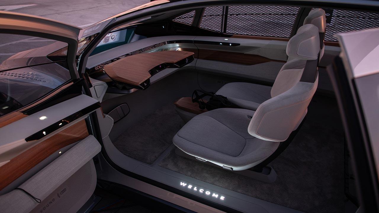 Audi AI:ME - Innenraum