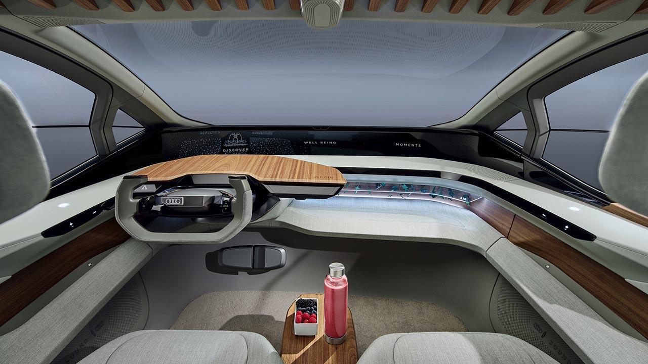 Audi AI:ME - Cockpit