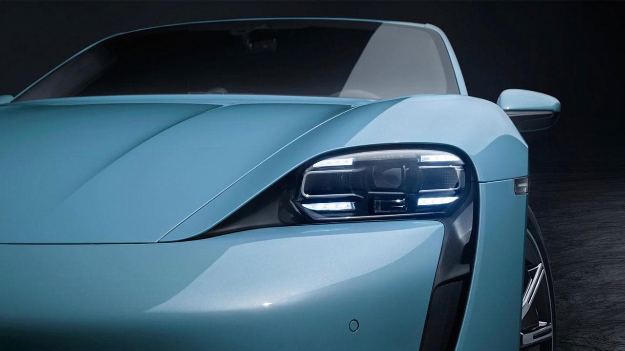 Porsche Taycan 4S - Scheinwerfer