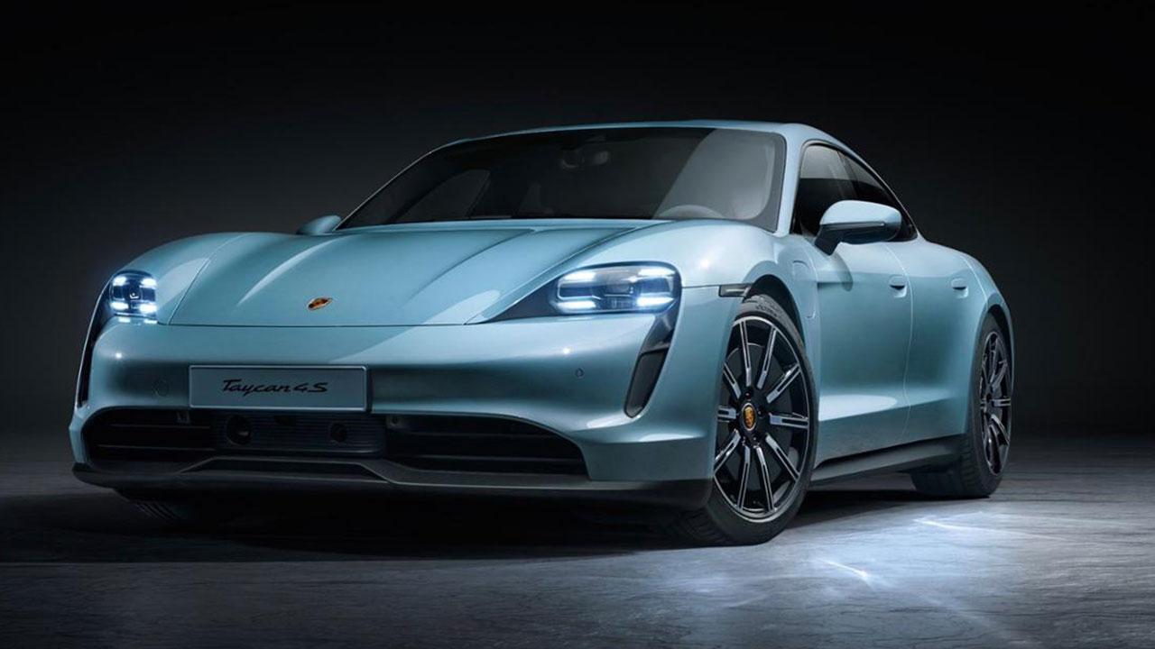 Porsche Taycan 4S - Frontansicht