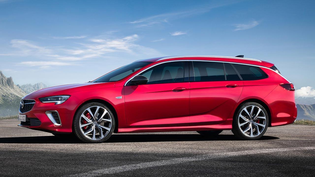 Opel Insignia GSi - Seitenansicht