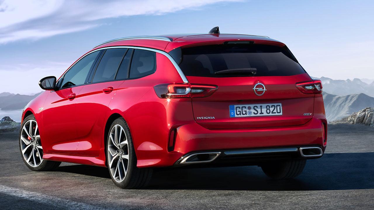 Opel Insignia GSi - Heckansicht