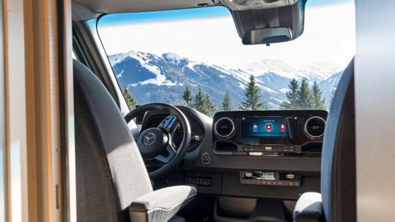 Mercedes-Benz Marco Polo - Cockpit