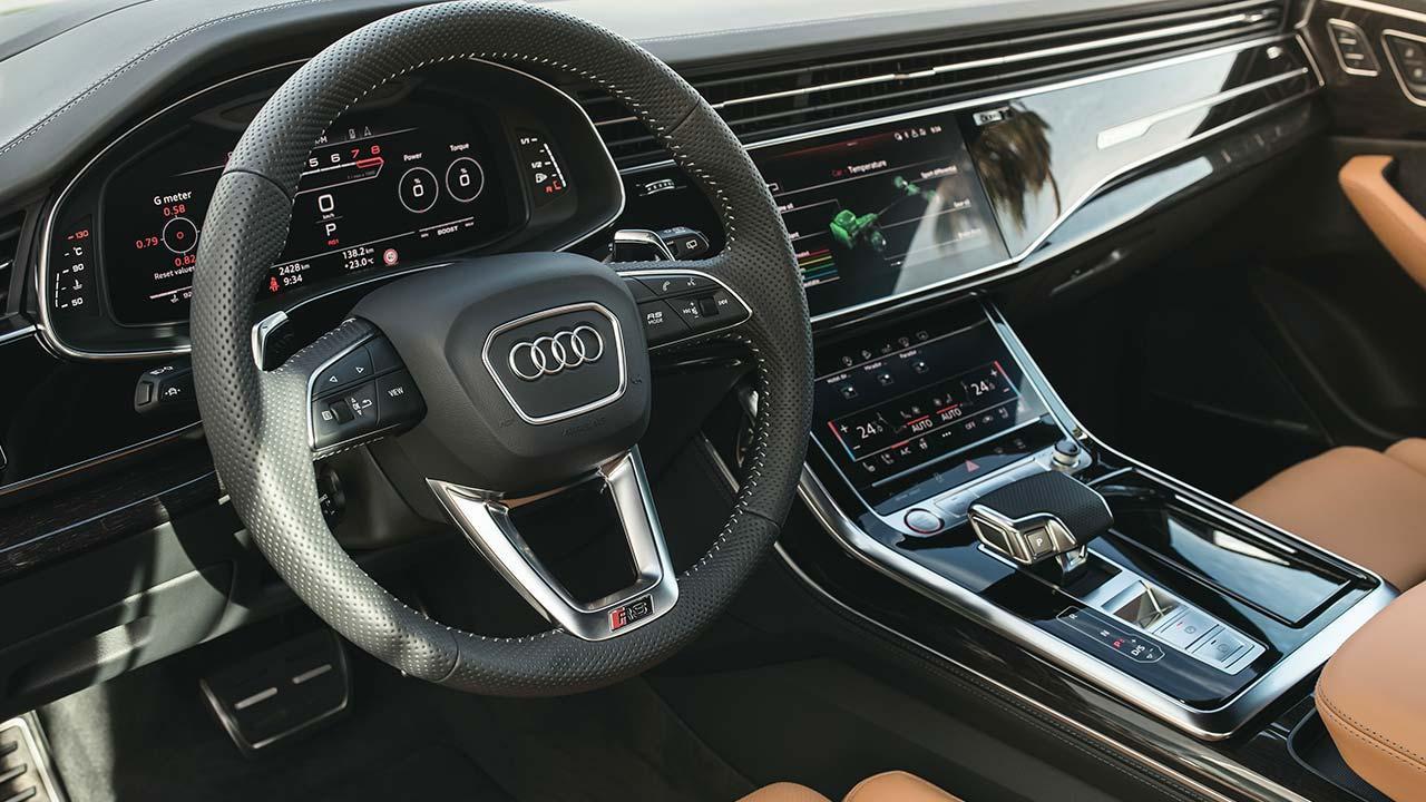 Audi RS Q8 - Cockpit