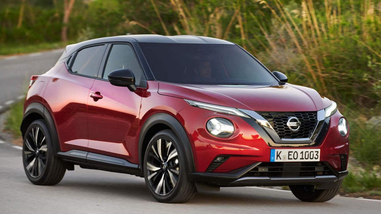 Nissan Juke 2020 - in voller Fahrt