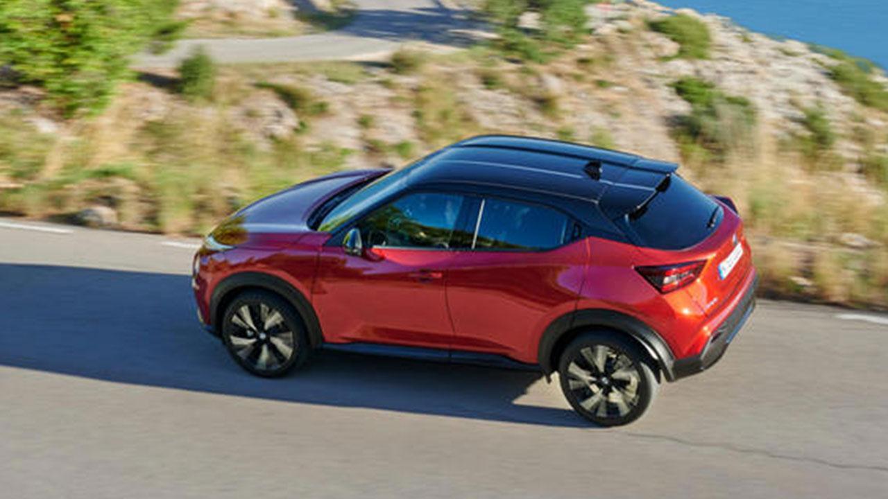 Nissan Juke 2020 - Vogelperspektive