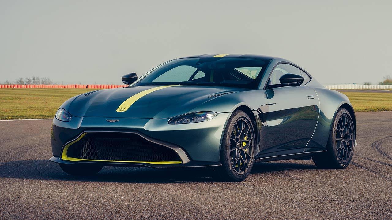 Aston Martin Vantage AMR - von vorne