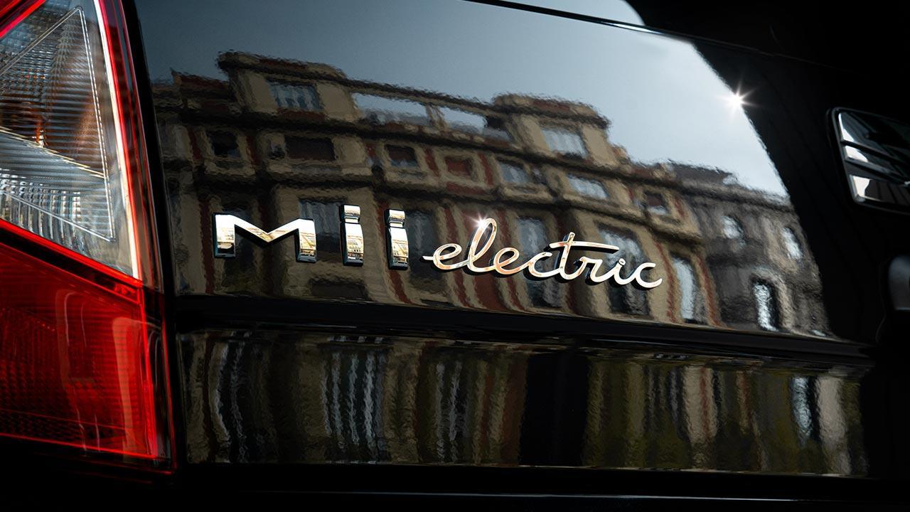 SEAT Mii electric - Schriftzug