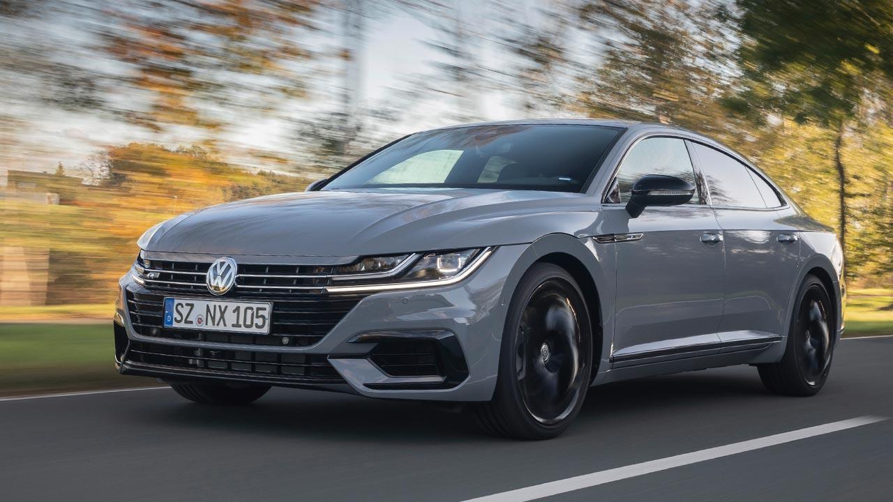 Volkswagen Arteon R-Line Edition - in voller Fahrt