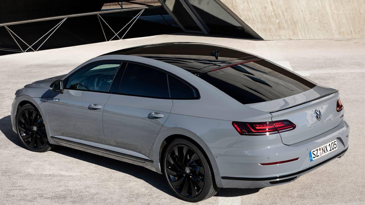 Volkswagen Arteon R-Line Edition - Vogelperspektive Rückansicht