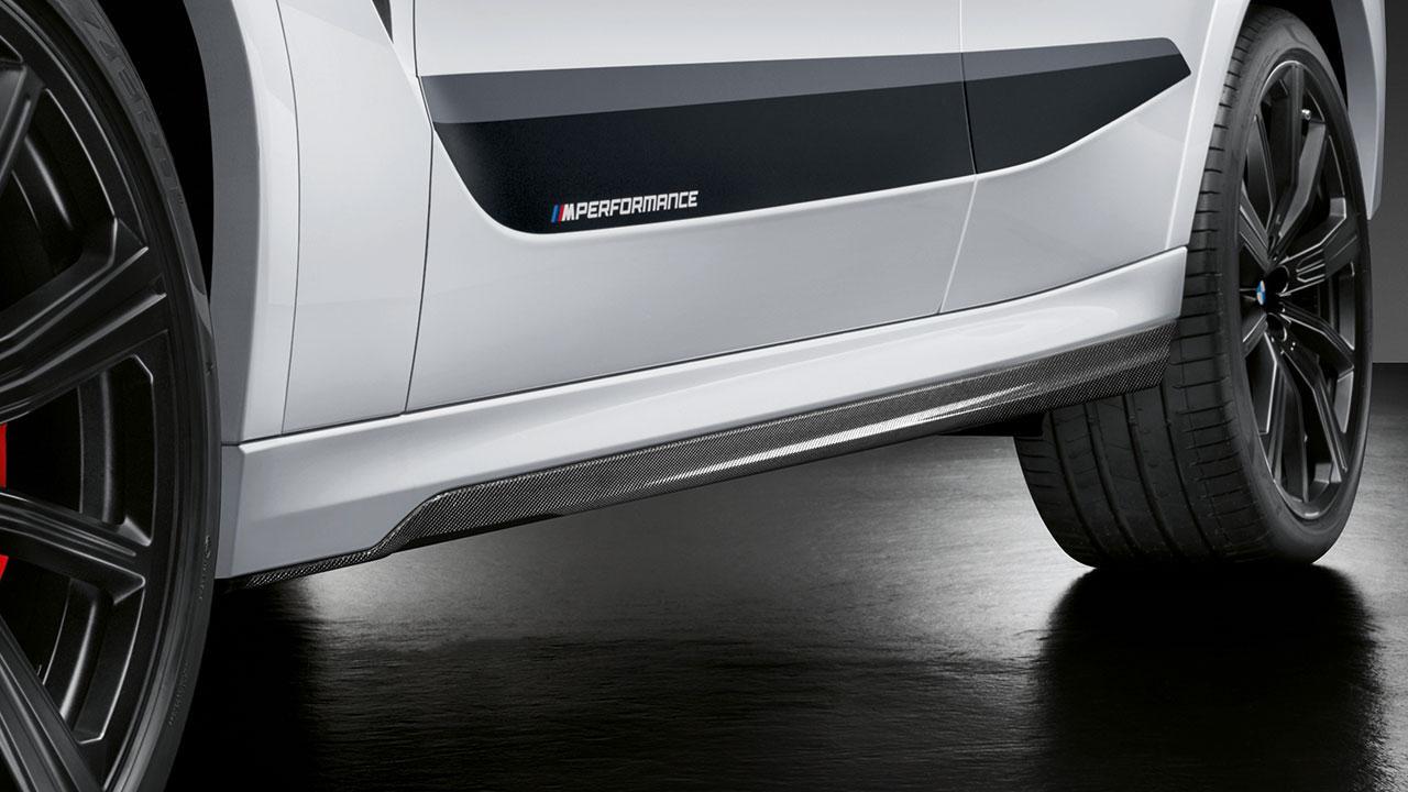 BMW X6 M Competition - Schriftzug auf der Seitenleiste