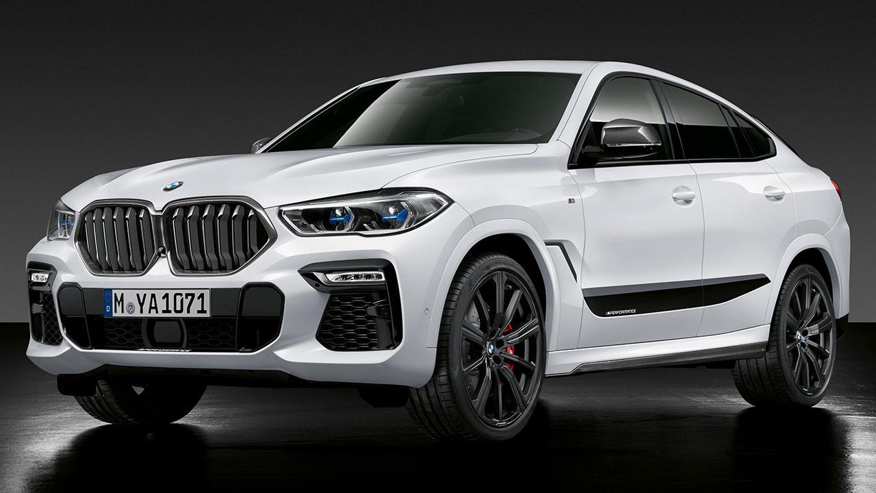 BMW X6 M Competition - seitliche Frontansicht