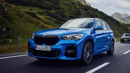 BMW X1 xDrive25e - in voller Fahrt