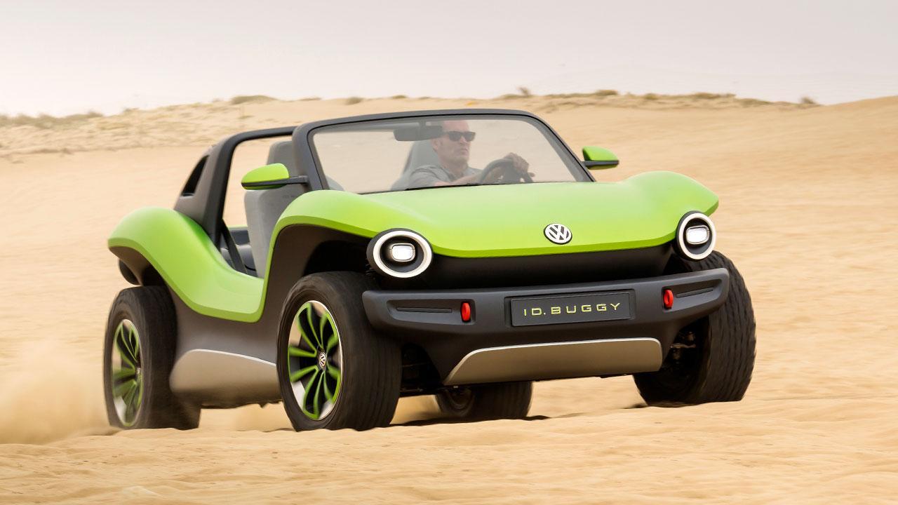 Volkswagen ID Buggy - durch die Wüste