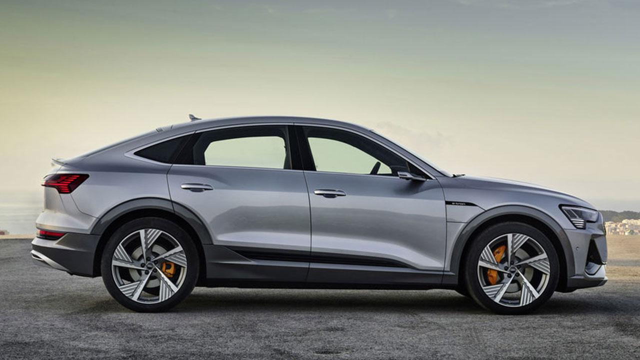 Audi e-tron Sportback 50 quattro - Seitenansicht