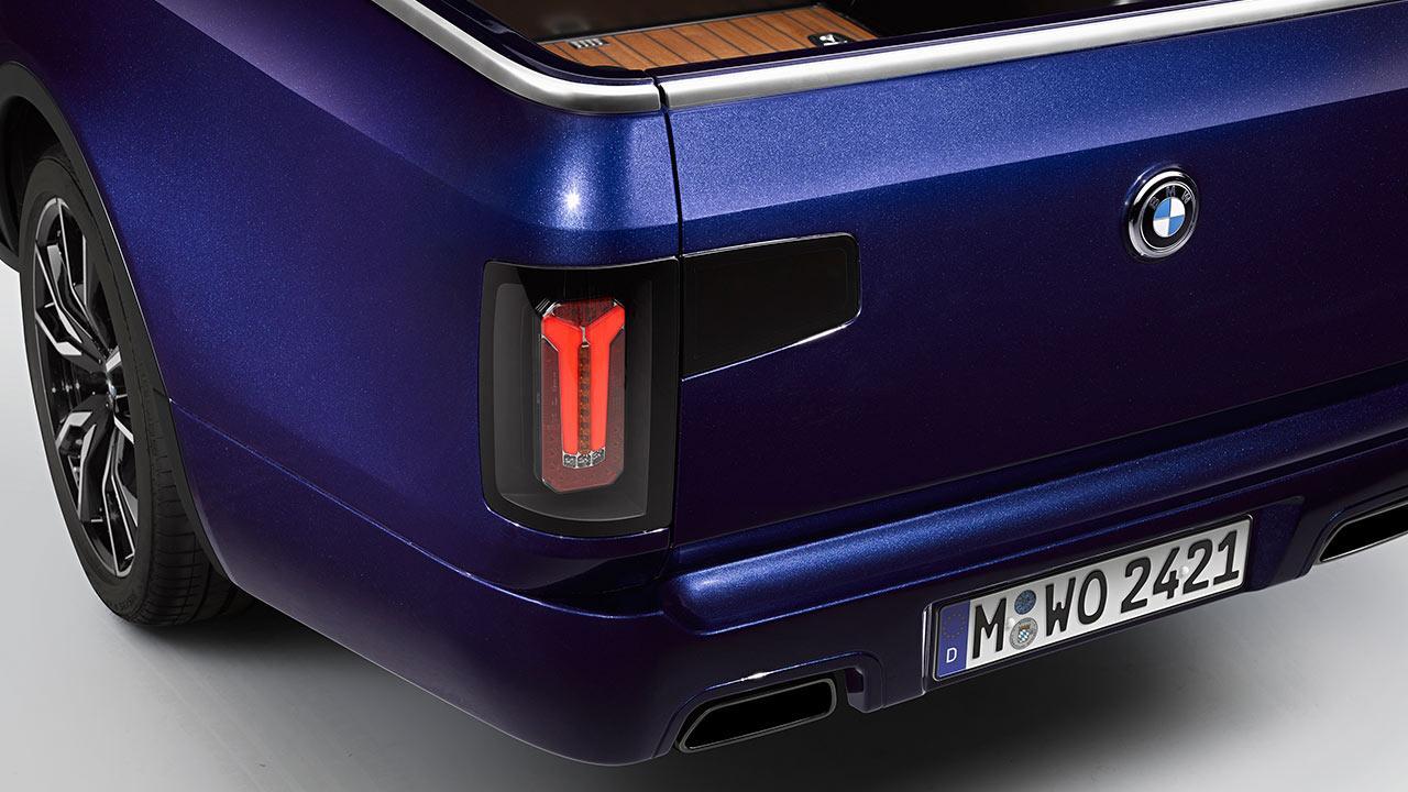 BMW X7 Pick-up Einzelstück - Heck