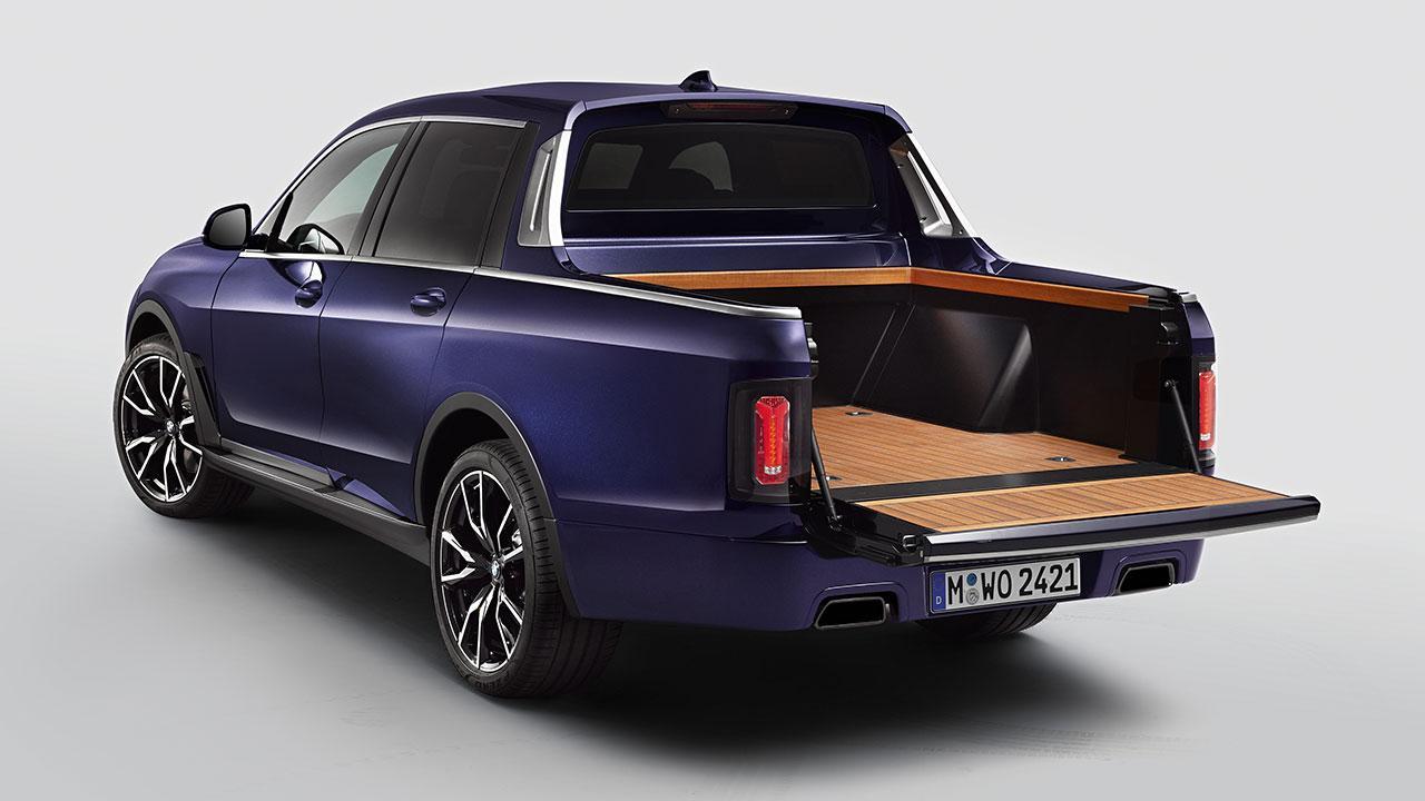 BMW X7 Pick-up Einzelstück - mit offener Heckklappe