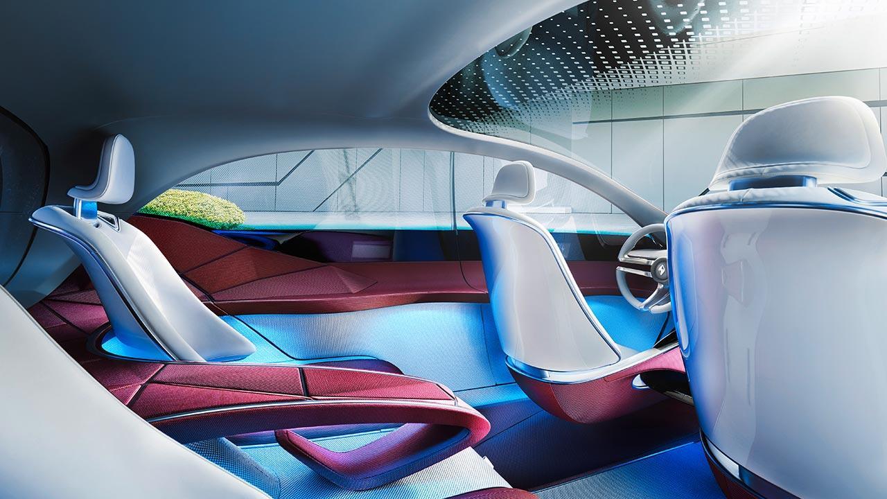 Borgward ISABELLA Concept - Schalensitze