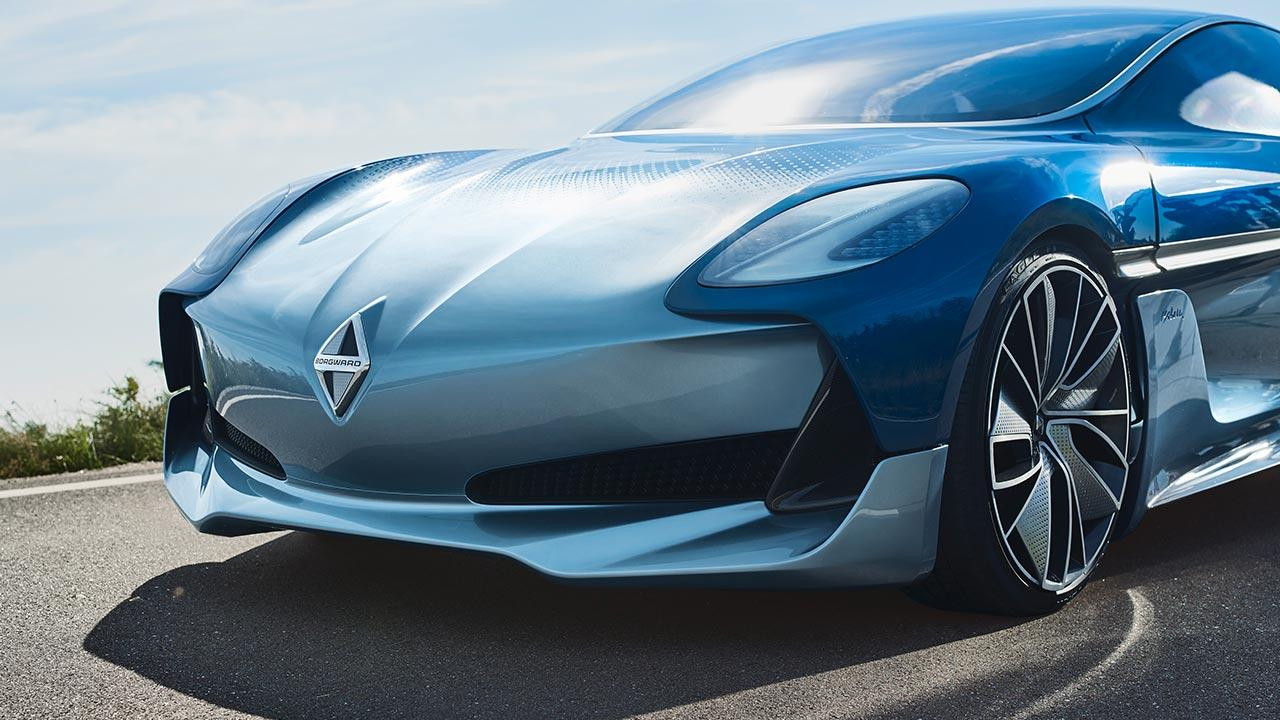 Borgward ISABELLA Concept - Front
