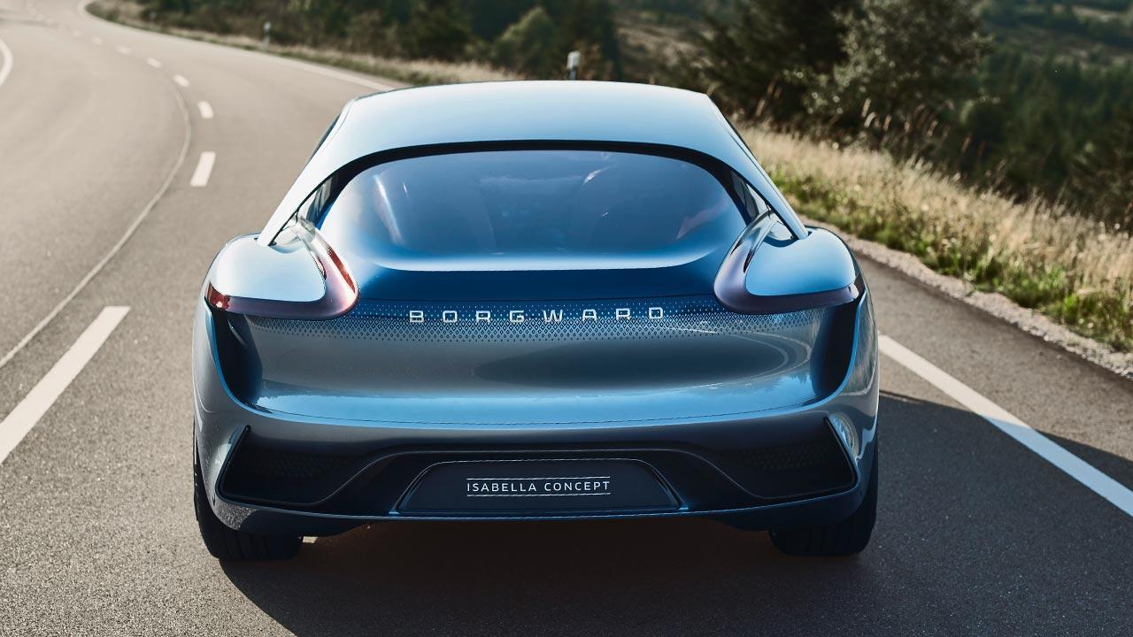 Borgward ISABELLA Concept - Heckansicht