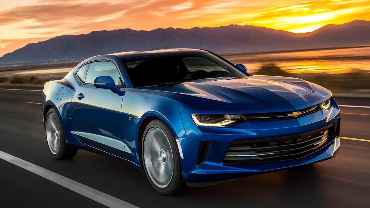 Chevrolet Camaro V8 - in voller Fahrt