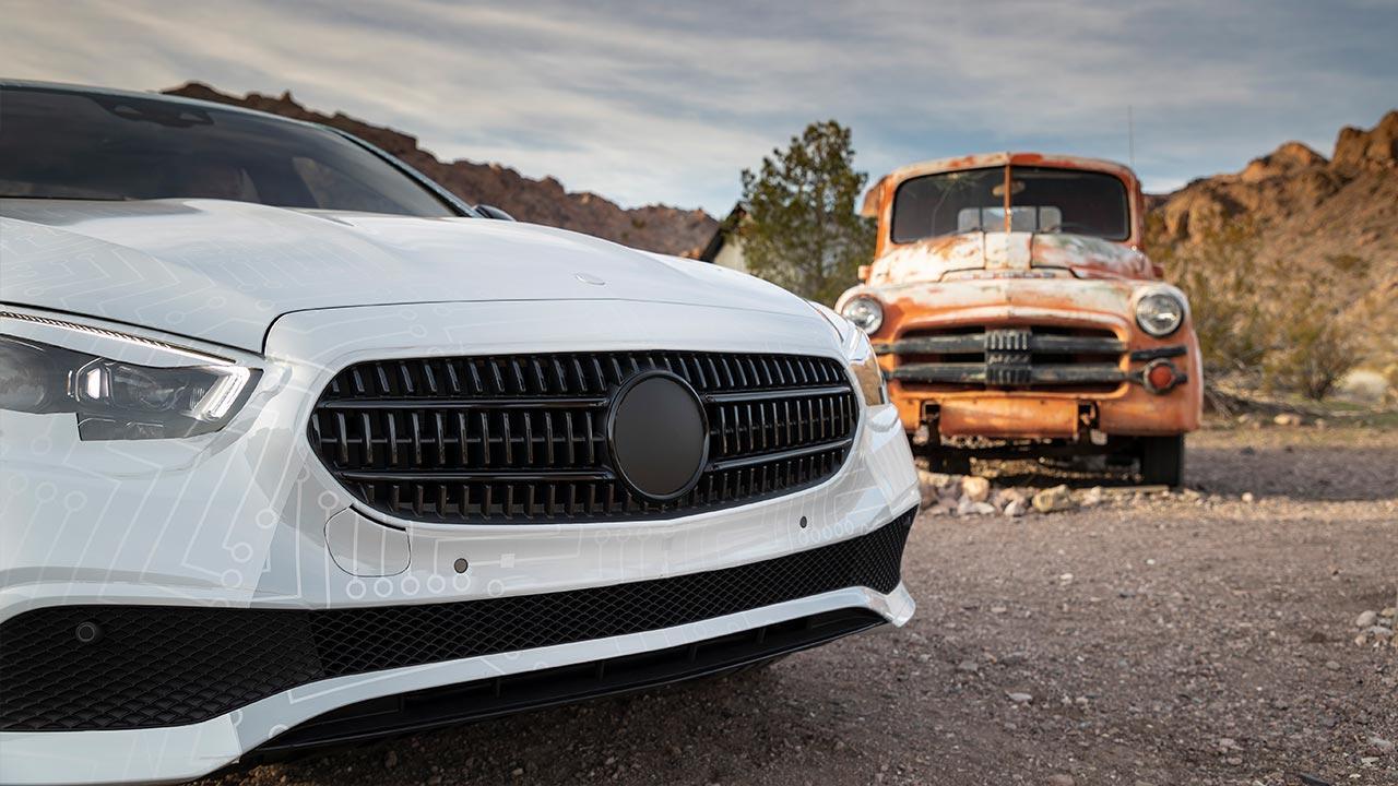 Mercedes-Benz E-Klasse im Sommer 2020 - Front