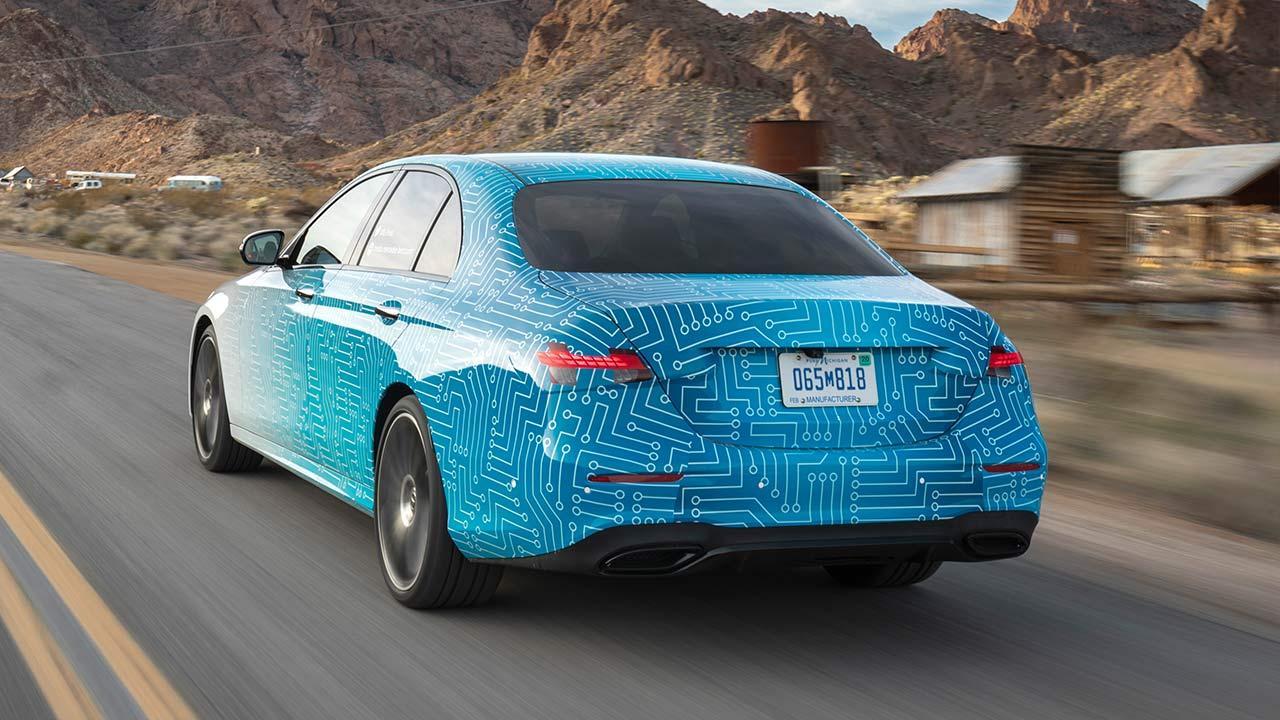 Mercedes-Benz E-Klasse im Sommer 2020 - Heck