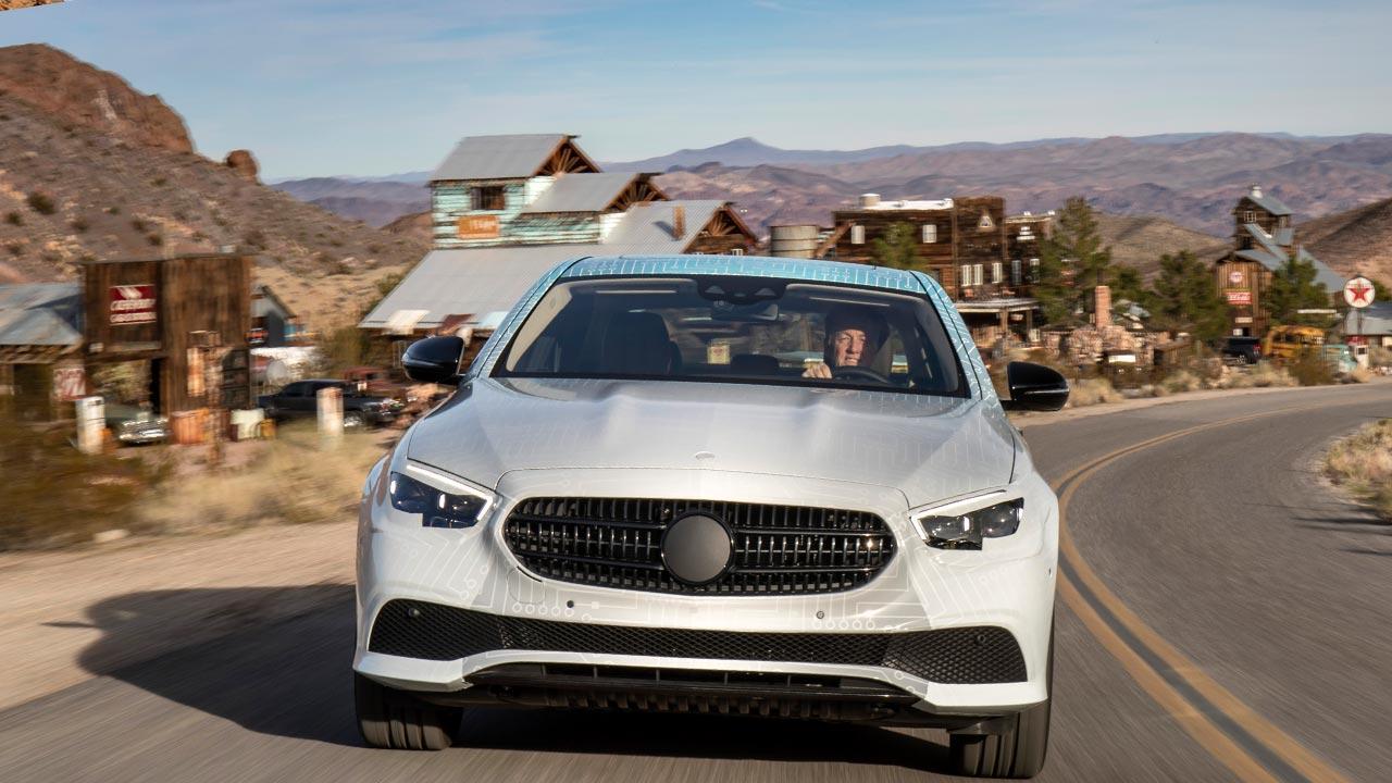 Mercedes-Benz E-Klasse im Sommer 2020 - Frontansicht
