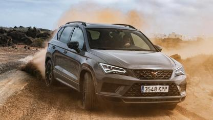 CUPRA Ateca Limited Edition - in voller Fahrt