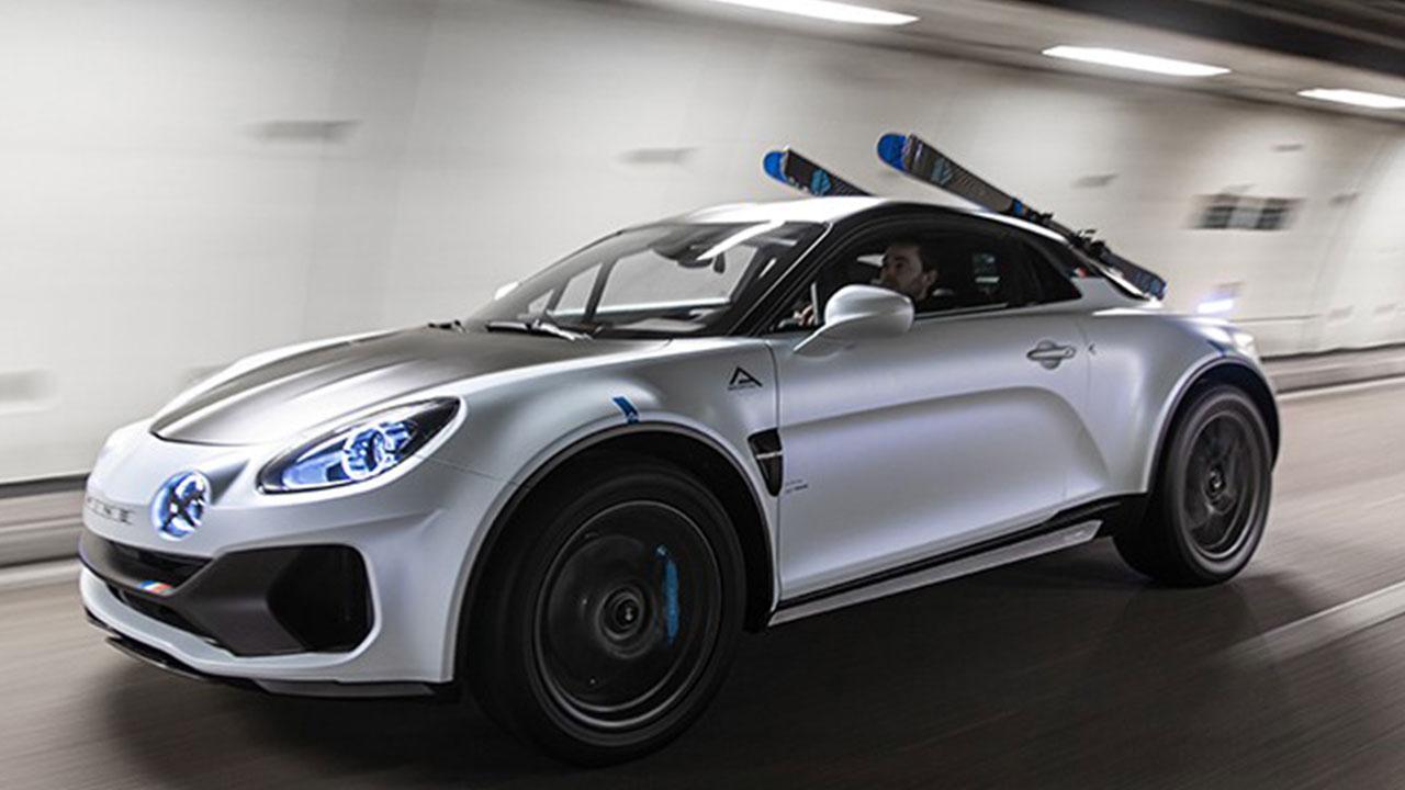 Alpine A110 Sports X - in voller Fahrt