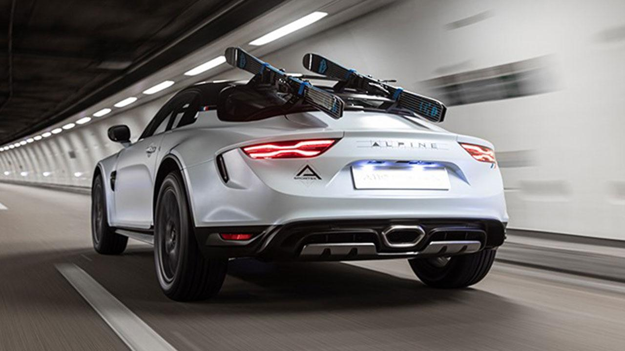 Alpine A110 Sports X - Heckansicht