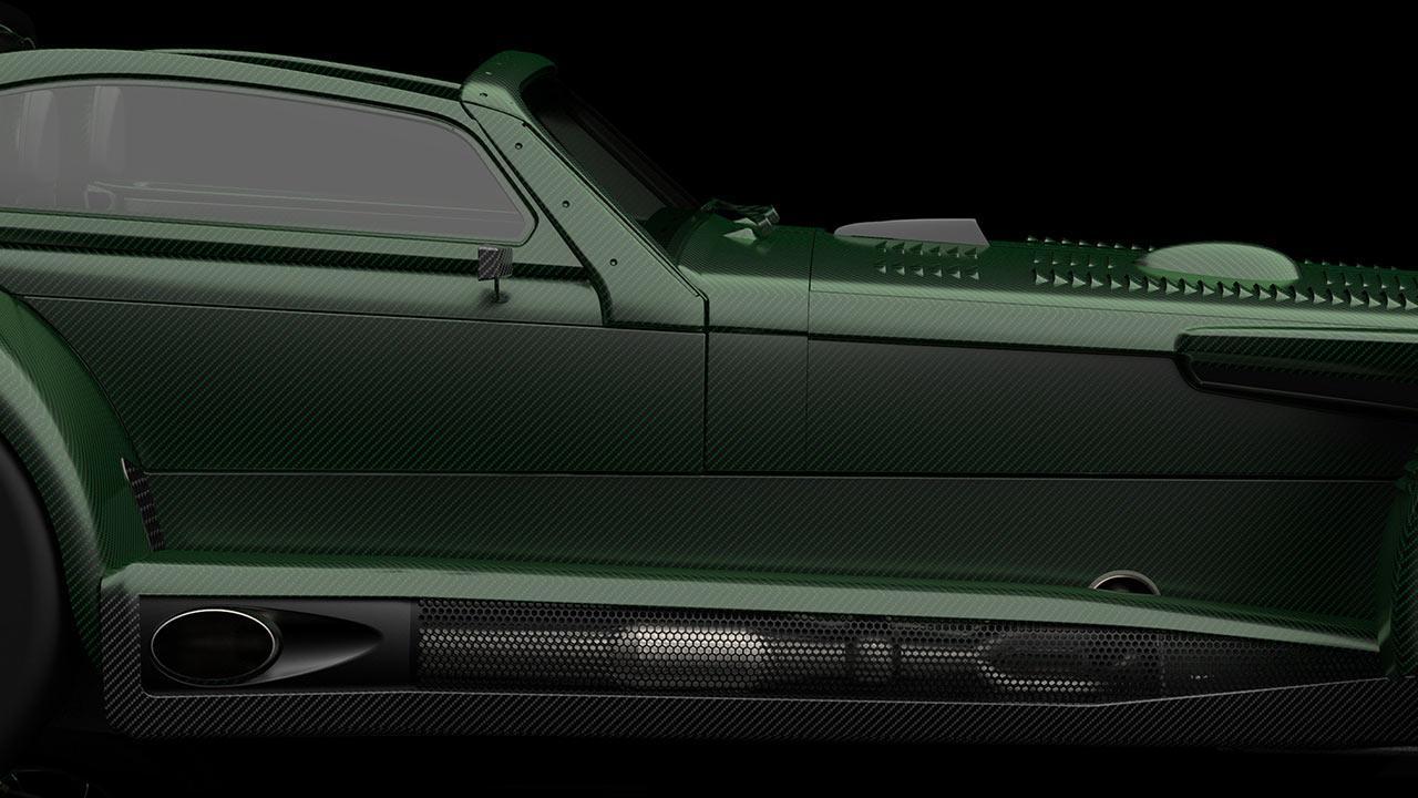 Donkervoort D8 GTO-JD70 - Seitenansicht