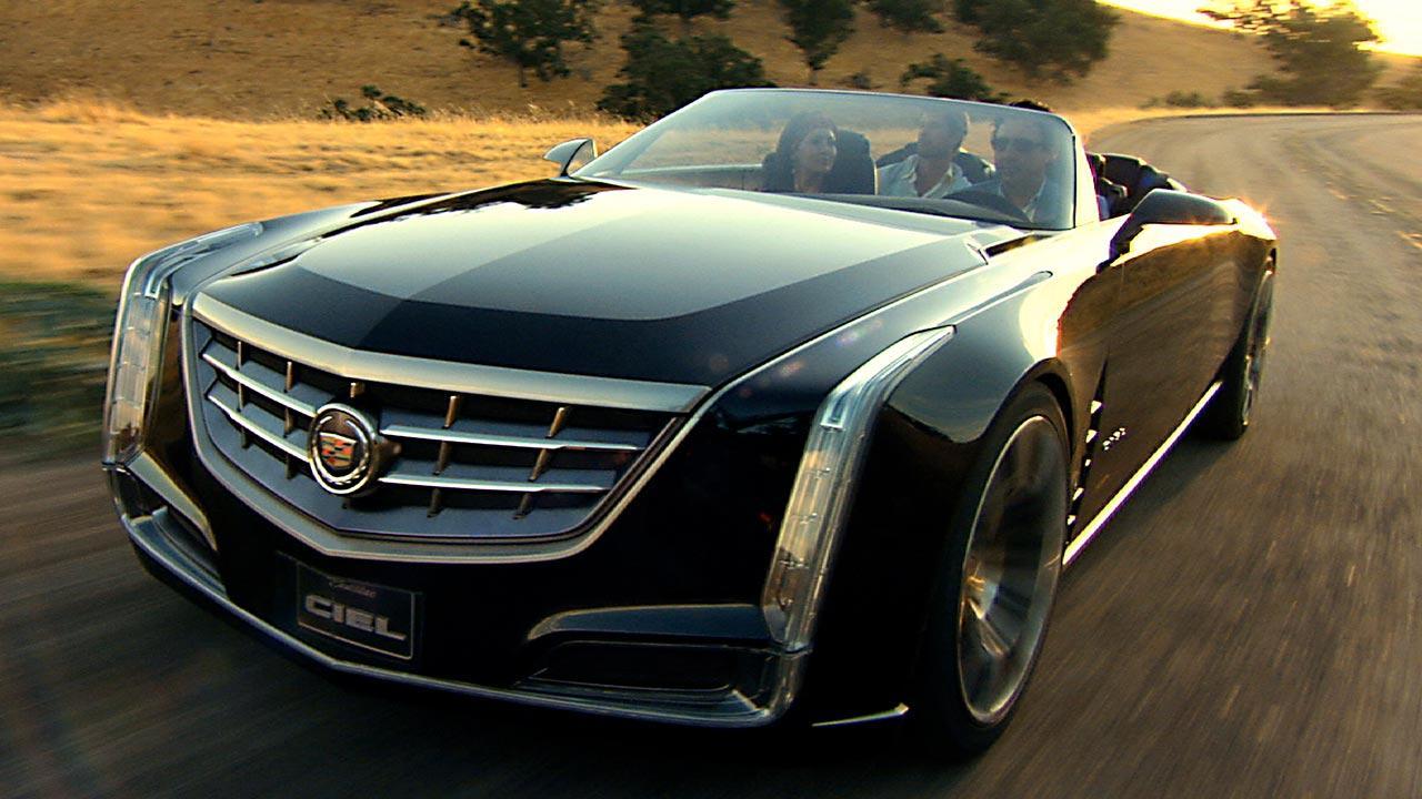 Cadillac Ciel - Traumhaft Zukünftiges Konzept - Frontansicht