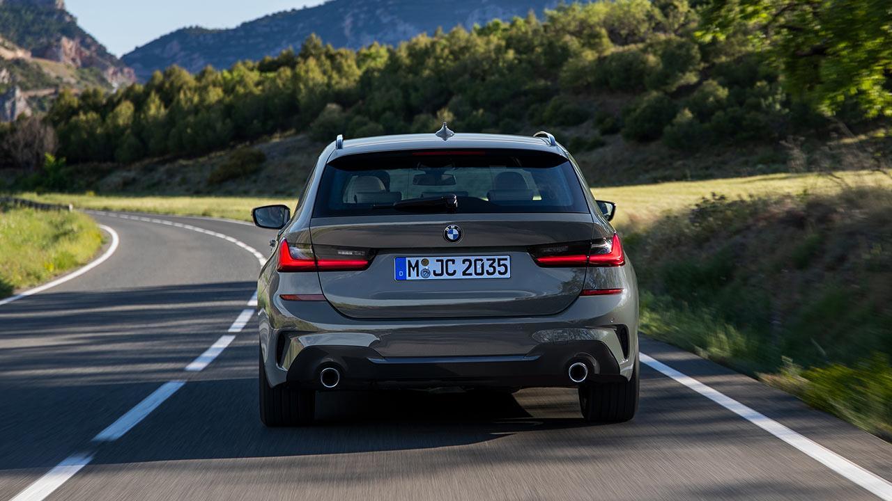BMW Touring 318i - Heckansicht