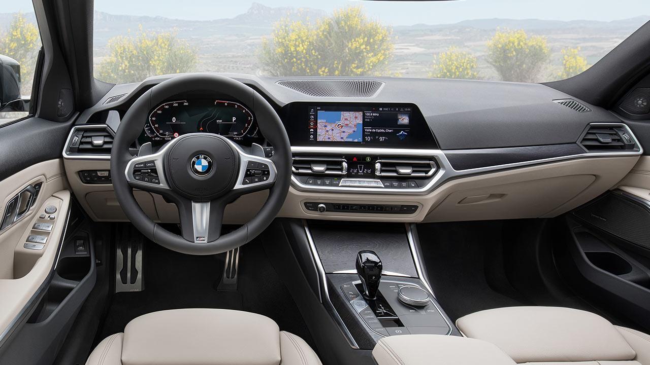 BMW Touring 318i - Cockpit